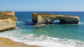 Grande strada dell'oceano, Australia Fotografie Stock Libere da Diritti