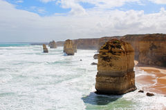 Grande strada dell'oceano, Australia Immagine Stock