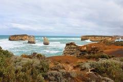 Grande strada dell'oceano, Australia Fotografia Stock Libera da Diritti