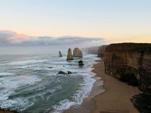 Grande strada dell'oceano dell'Australia Immagine Stock Libera da Diritti