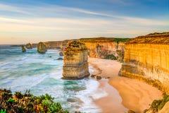 Grande strada dell'oceano: Dodici apostoli Immagine Stock Libera da Diritti