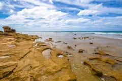 Grande strada dell'oceano: Punto Roadknight Anglesea immagine stock libera da diritti