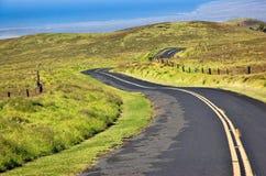 Grande strada della sella anticlinale dell'isola Fotografia Stock Libera da Diritti