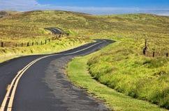 Grande strada della sella anticlinale dell'isola Immagini Stock