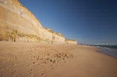 Grande strada Melboure Australia dell'oceano Fotografie Stock