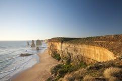 Grande strada Melbourne Australia dell'oceano dei 12 apostoli Immagine Stock