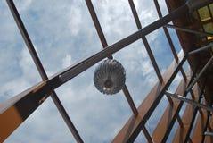 Grande structure en bois d'un b?timent photos stock
