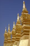 Grande Stupa a Vientiane Laos Immagini Stock