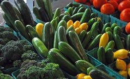 Grande substance au marché du ` s d'agriculteur Image libre de droits