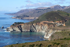 Grande Sur California Fotografie Stock Libere da Diritti