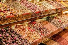 Grande tè di Costantinopoli del bazar Immagini Stock Libere da Diritti