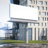 Grande tabellone per le affissioni nella città rappresentazione 3d Fotografie Stock