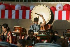 Grande Taiko Drum Fotografia Stock Libera da Diritti