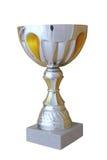 Grande tazza del metallo Fotografia Stock