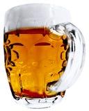 Grande tazza di birra Fotografia Stock Libera da Diritti