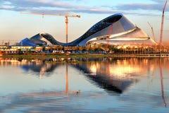 Grande teatro di Harbin in costruzione Fotografia Stock