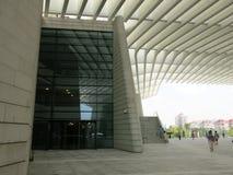 Grande teatro di Qingdao Fotografia Stock