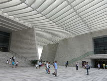 Grande teatro di Qingdao Immagine Stock