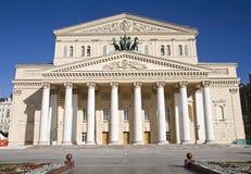 Grande teatro a Mosca, Russia Fotografia Stock
