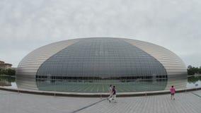 Grande teatro nazionale al giorno 4k video d archivio