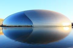 Grande teatro nazionale della Cina Fotografie Stock