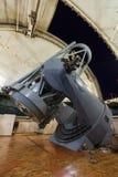Grande telescópio ótico fotos de stock
