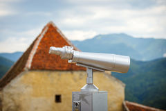 Grande telescópio a fichas Imagem de Stock Royalty Free