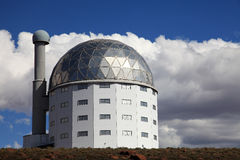 Grande telescopio africano del sud, Sudafrica Fotografie Stock Libere da Diritti