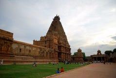Grande tempio India Thanjavur Fotografia Stock Libera da Diritti
