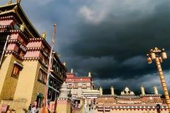 grande templo lin do pinho Imagens de Stock