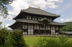 Grande templo oriental Todai-ji - Nara, Japão imagem de stock royalty free