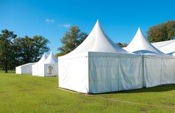Grande tente d'événement Photographie stock