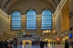 Grande terminale centrale a New York Fotografia Stock Libera da Diritti