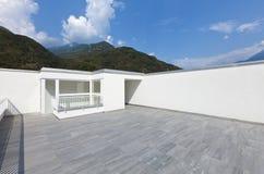 Grande terraço fotografia de stock