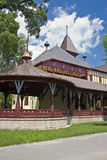 Grande terrasse, Palic, Serbie Image libre de droits