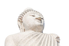 Grande testa di Buddha fotografia stock libera da diritti