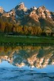 Grande Teton fotografia stock libera da diritti