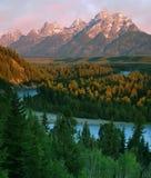 Grande Teton Fotografia Stock