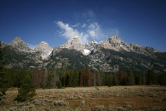 Grande Tetons Wyoming fotografie stock libere da diritti
