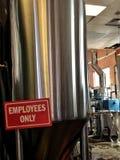 Grande tino della birra Fotografia Stock Libera da Diritti
