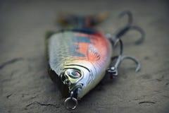 Grande, tomada de pesca pesada da atração do planador para muskies imagens de stock royalty free