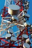 Grande torre della trasmissione immagini stock libere da diritti