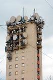 Grande torre della trasmissione Immagine Stock Libera da Diritti