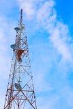 Grande torre della trasmissione Fotografie Stock