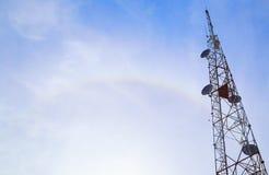 Grande torre della trasmissione Immagini Stock