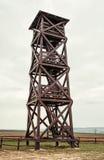 Grande torre di legno dell'allerta Fotografia Stock