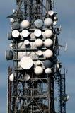 Grande torretta della televisione Fotografie Stock