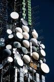 Grande torretta della televisione Fotografie Stock Libere da Diritti
