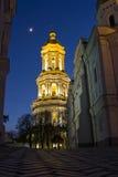 Grande torretta di Bell Kiev-Pechersk Lavra Fotografie Stock Libere da Diritti