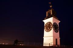 Grande torretta di orologio Fotografie Stock